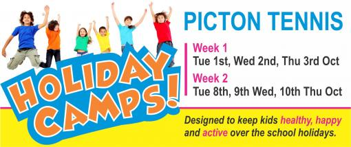 School Holiday Camps - October 2019